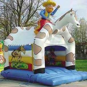 Hüpfburg Cowboy mieten