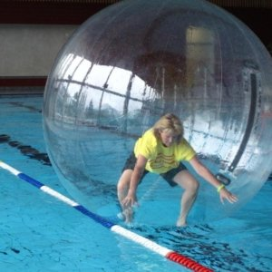 water walking ball mieten