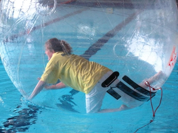 water walking ball mieten