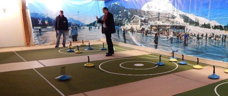 Teppich-Curling-