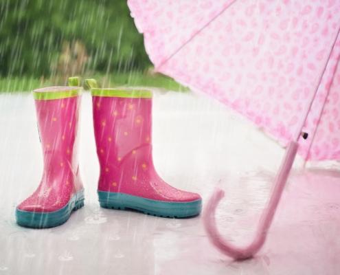 stornieren wegen regen