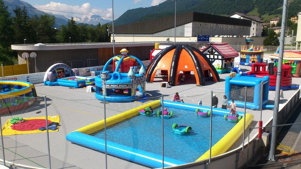 Hüpfburgen Funpark